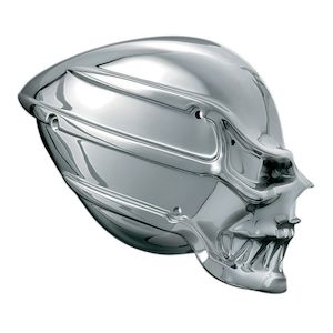 Kuryakyn Skull Air Cleaner For Harley
