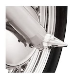 Kuryakyn Stiletto Front Axle Nut Covers For Harley 2000-2007