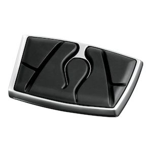 Kuryakyn Flame Brake Pedal Pad For Harley Touring / FL Softail / Dyna 1984-2018