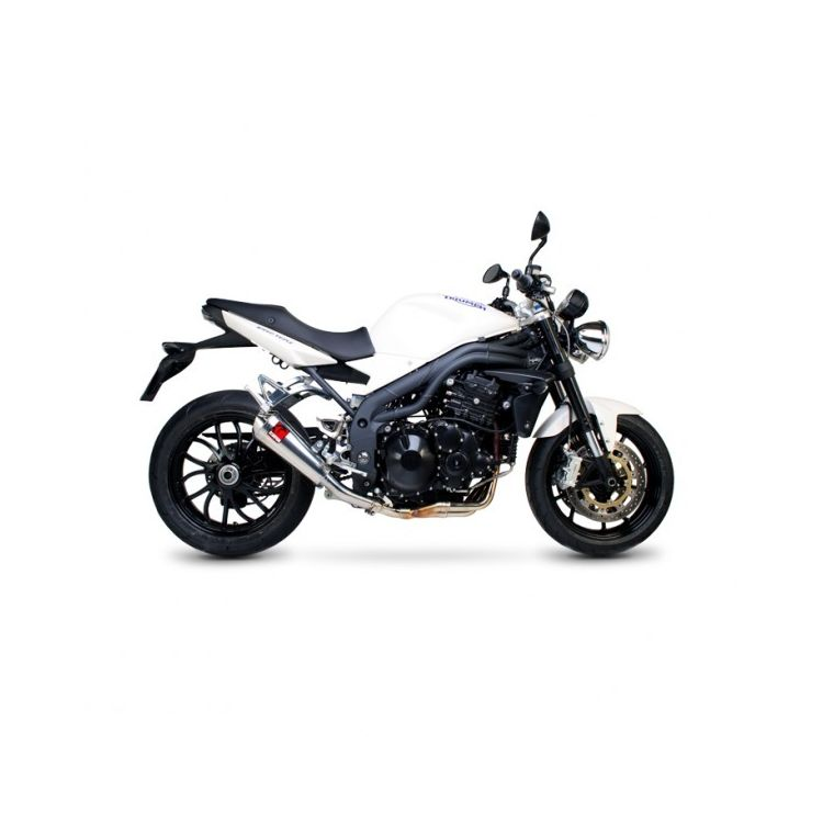 Scorpion Power Cone Slip-On Exhaust Triumph Speed Triple 1050 2008-2010