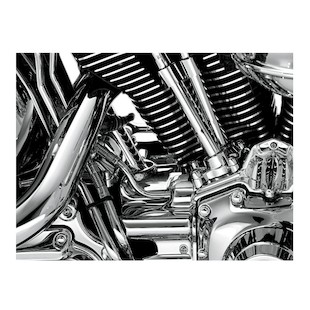 Kuryakyn Rear Cylinder Base Cover For Harley Softail 2007-2014