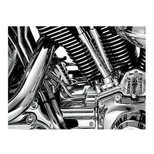 Kuryakyn Rear Cylinder Base Cover For Harley Softail 2007-2014