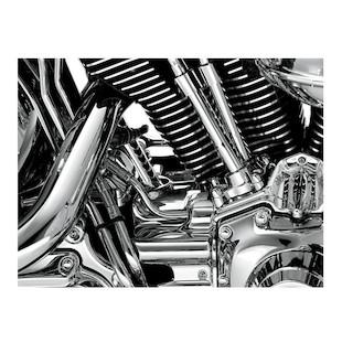 Kuryakyn Rear Cylinder Base Cover For Harley Softail 2007-2016