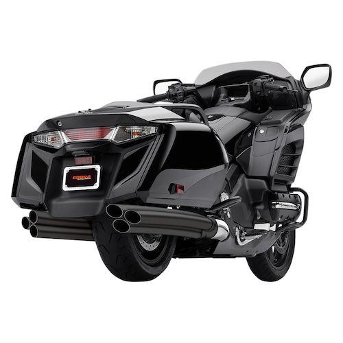 Cobra Six 2 Six Slip On Muffler For Honda Gold Wing 1800