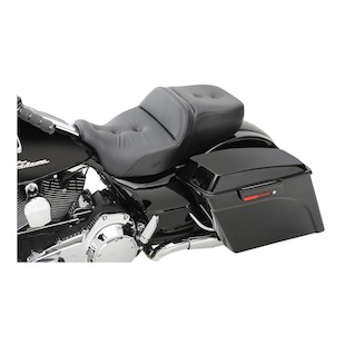 Saddlemen Heated Road Sofa Deluxe Touring Seat For Harley Touring 2008-2014