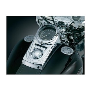 Kuryakyn Dash Panel Cover For Harley Softail / Wide Glide 1993-2010