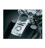 Kuryakyn Dash Panel Cover For Harley Softail and Wide Glide 1993-2010