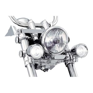 Kuryakyn Clamp-On Fork Mounted Driving Lights