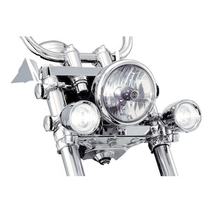 Kuryakyn Clamp-On Driving Lights For Harley