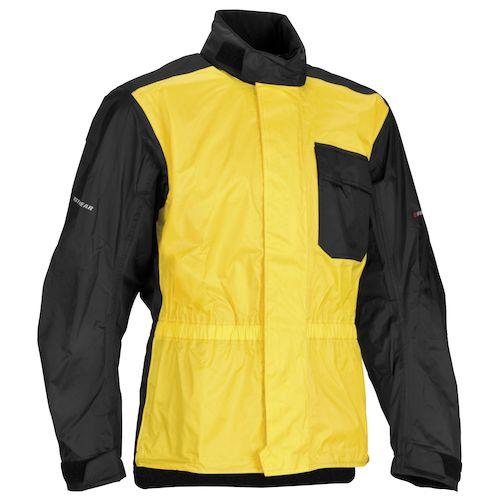 Firstgear splash rain jacket revzilla for Motor cycle rain gear