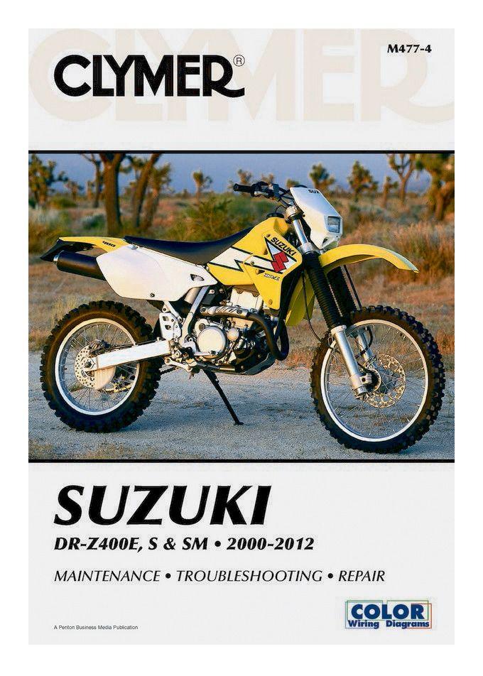 Clymer Manual Suzuki Drz400e    S    Sm 2000-2012