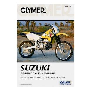 Clymer Manual Suzuki DRZ400E / S / SM 2000-2012