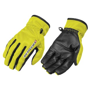 Firstgear Ultra Mesh Gloves (Color: Neon Yellow / Size: SM)