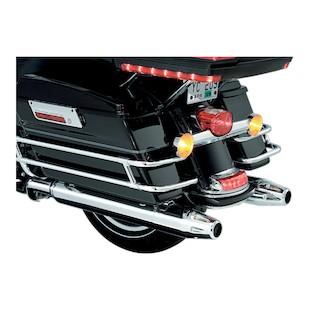 Kuryakyn Six Gun Chrome Exhaust Tips For Harley Touring 1995-2013
