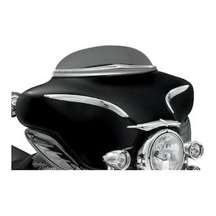 Kuryakyn Deluxe Windshield Trim For Harley Touring 1996-2013