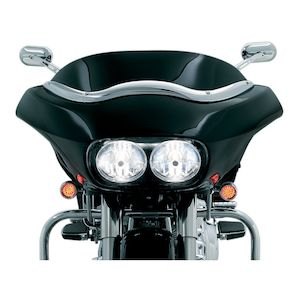 Kuryakyn Smooth Windshield Trim For Harley Road Glide 1998-2013