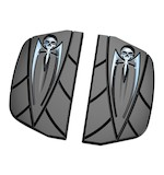 Kuryakyn Passenger Floorboard Covers For Harley 1984-2014