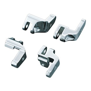 Kuryakyn Driver Floorboard Relocation Brackets For Harley Softail 2000-2017