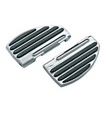 Kuryakyn ISO Passenger Floorboards For Harley 1993-2015