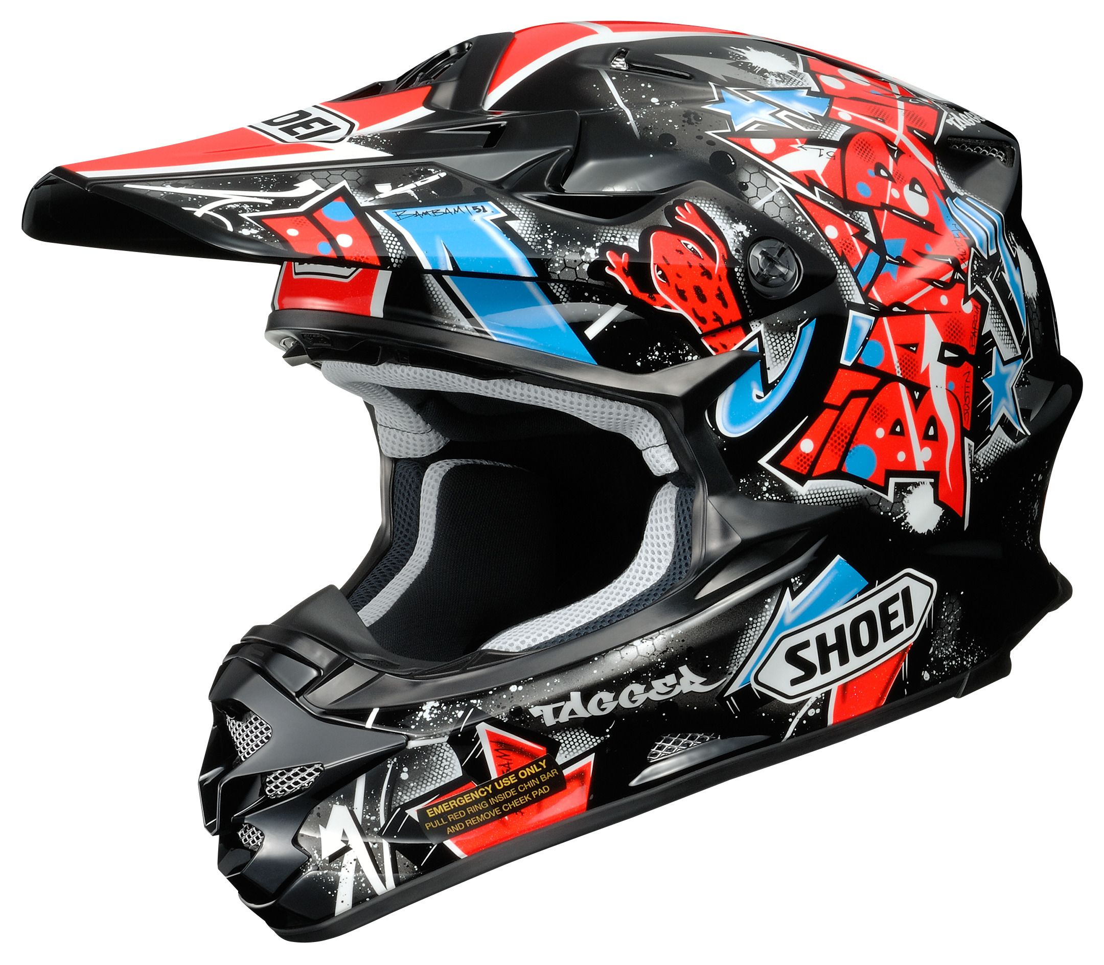 shoei vfx w barcia helmet revzilla. Black Bedroom Furniture Sets. Home Design Ideas