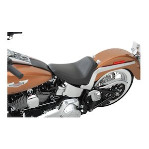 Saddlemen Renegade S3 Super Slammed Solo Seat For Harley Softail Classic / Deluxe 2006-2017
