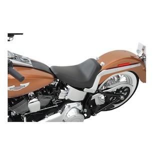 Saddlemen Renegade S3 Super Slammed Solo Seat For Harley Softail 2006-2014