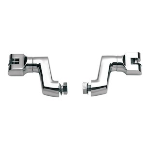Kuryakyn Universal Offset Footpeg Mounts For Harley
