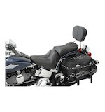 Saddlemen Dominator Pillion Seat Harley Softail Classic 2006-2015
