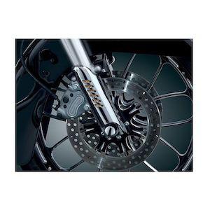 Kuryakyn Lower Fork Leg Deflector Shield For Harley 1986-2017