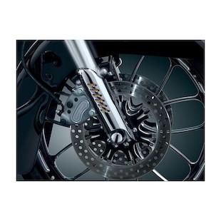 Kuryakyn Lower Fork Leg Deflector Shield For Harley 1986-2013