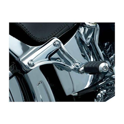 Kuryakyn Underseat Passenger Footpeg Mounts For Harley