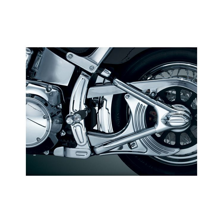 Kuryakyn Boomerang Frame Cover Kit For Harley Softail 2008-2017