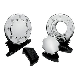 Kuryakyn Aero Flush-Mount Gas Cap For Harley 1983-2015