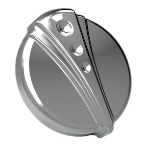 Kuryakyn Deco Vented Gas Cap For Harley 1996-2015