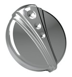 Kuryakyn Deco Vented Gas Cap For Harley 1996-2014
