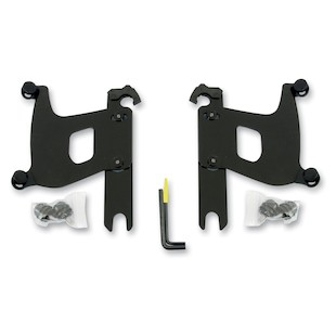 Memphis Shades Bullet Fairing Trigger-Lock Mount Kit For Harley Softail 1986-2014 Black [Open Box]