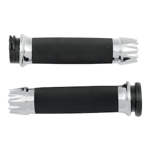 Avon Custom Contour Grips For Harley With Dual Cable Throttle