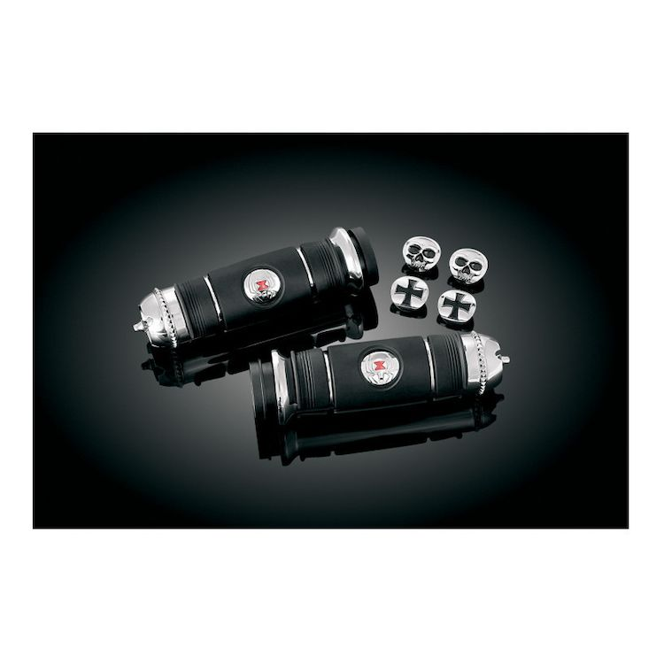 Kuryakyn Transformer Grips For Harley With Dual Cable Throttle