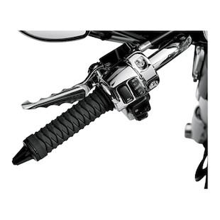 Kuryakyn Braided Grips For Harley Dual Cable Throttle