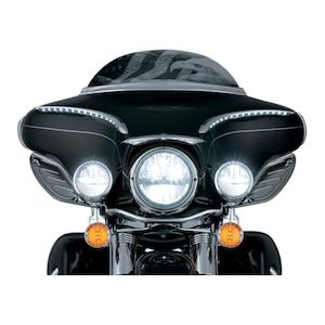 "Kuryakyn Phase 7 LED 7"" Headlamp For Harley"