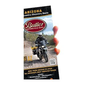 Butler Maps Arizona Backcountry Discovery Route