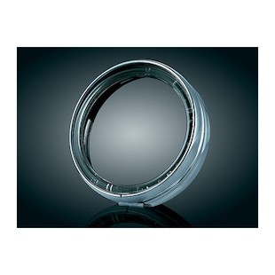 "Kuryakyn LED Halo 5.75"" Headlight Trim Ring For Harley 1993-2014"