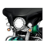 "Kuryakyn LED Halo 7"" Headlight Trim Ring For Harley 1984-2017"