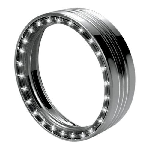Kuryakyn LED Halo 7 Headlight Trim Ring For Harley 1984  -> Wandleuchte Led Ring