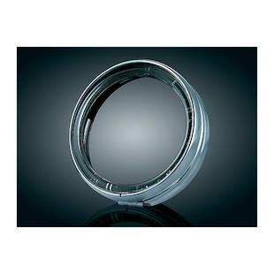 "Kuryakyn LED Halo 7"" Headlight Trim Ring For Harley Softail 1994-2014"