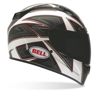 Bell Vortex Flack Helmet White/Black / LG [Blemished]