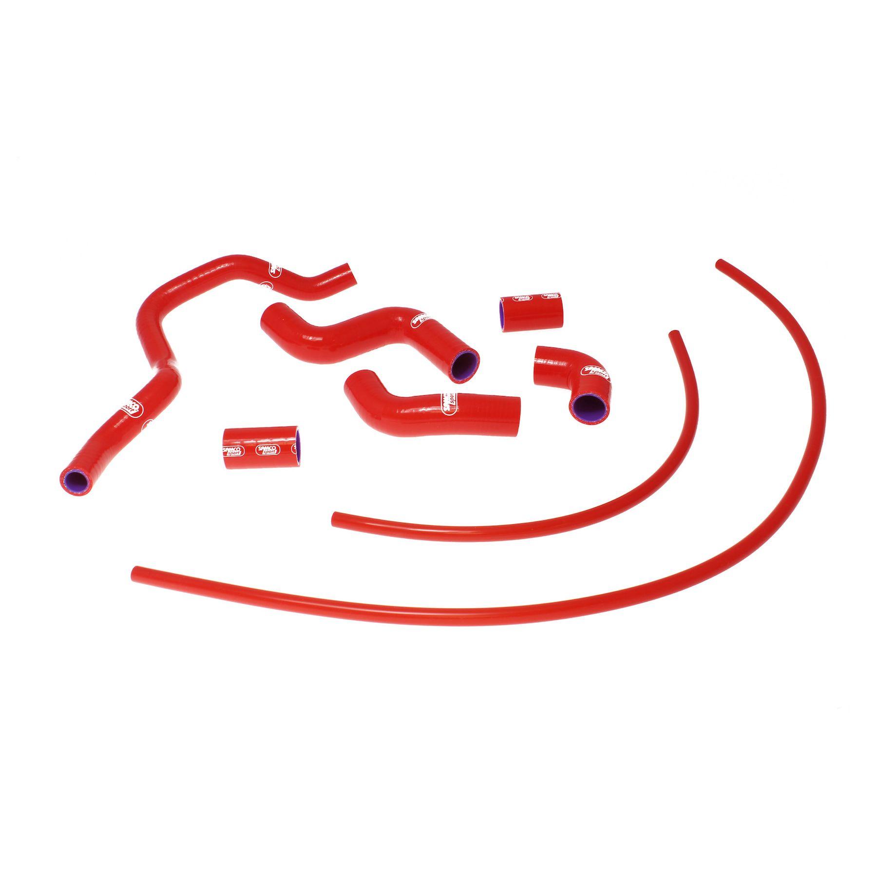 RSV4 RF// RSV4 RR 2009-2018 Silicone Radiator Coolant Hose Red For Aprilia RSV4