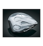 Kuryakyn Flame Horn Cover For Harley 1992-2014