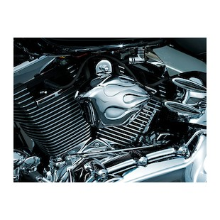 Kuryakyn Horns With Flame Cover For Harley 1992-2016