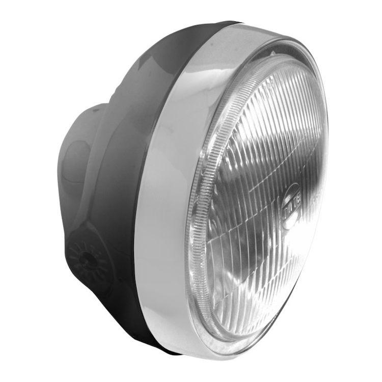 Emgo Side Mount Cafe Headlight 10 5 29 Off Revzilla
